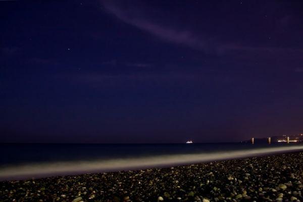 Как фотографировать ночью без штатива.